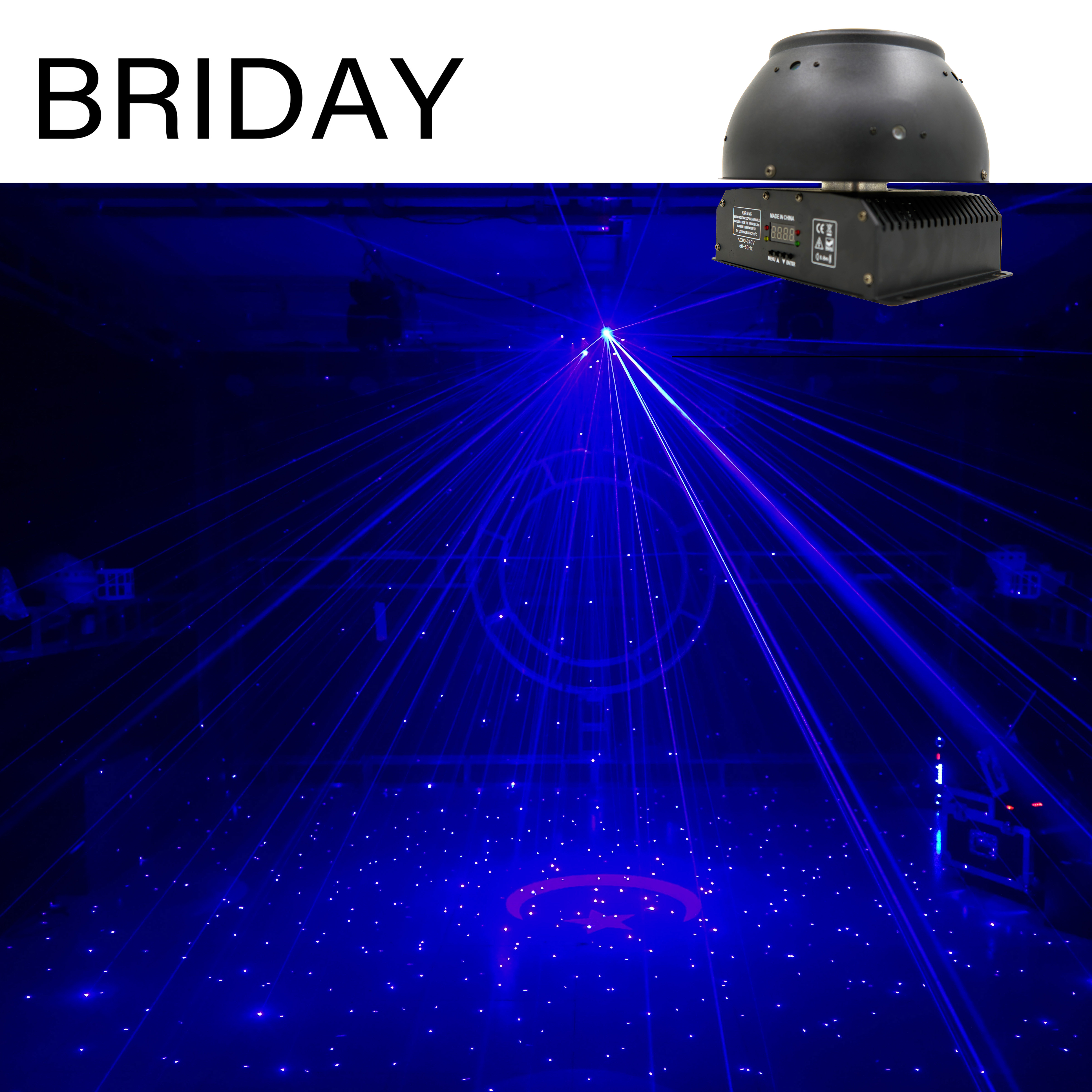 Free Mailing Of Stage Lights, Laser Lights, Starry Sky Is Suitable For Disco Bar Parties, Family Entertainment.