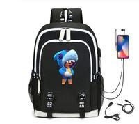 레온 게임 키즈 가방 배낭 Usb 충전 학교 가방 학생 학교 가방 3D 인쇄 컴퓨터 가방 44*30*15 Cm