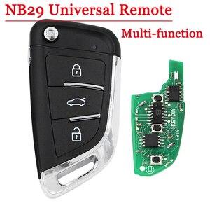 Image 1 - Бесплатная доставка (1 шт.) многофункциональный ключ diy NB29 3 кнопочный пульт дистанционного управления для KD900 KD900 + URG200 KD X2 5 функций в одной кнопке