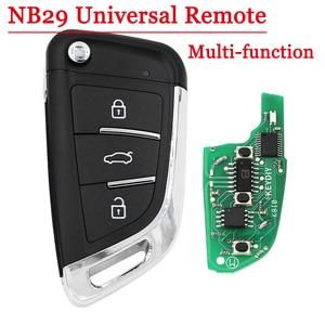 Image 1 - KEYDIY multi fonctionnel NB29 3 boutons clé à distance pour KD900 KD900 + URG200 KD X2 5 fonctions dans une clé
