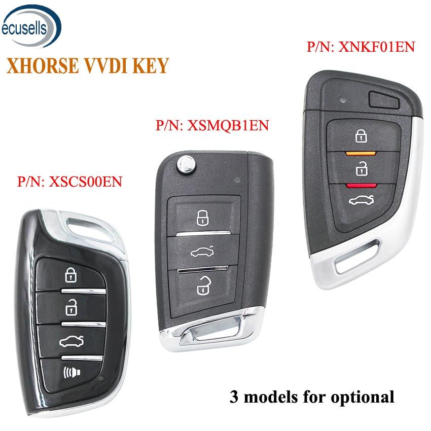 XHORSE (английская версия) Универсальный умный Бесконтактный автомобильный брелок для ключей VVDI, VVDI мини-инструмент для ключей VVDI2