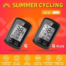 XOSS Bike Computer G + plus Wireless GPS Speedometer Waterproof Road Bike MTB Bicycle Bluetooth ANT+  Sprint Cycling Computers