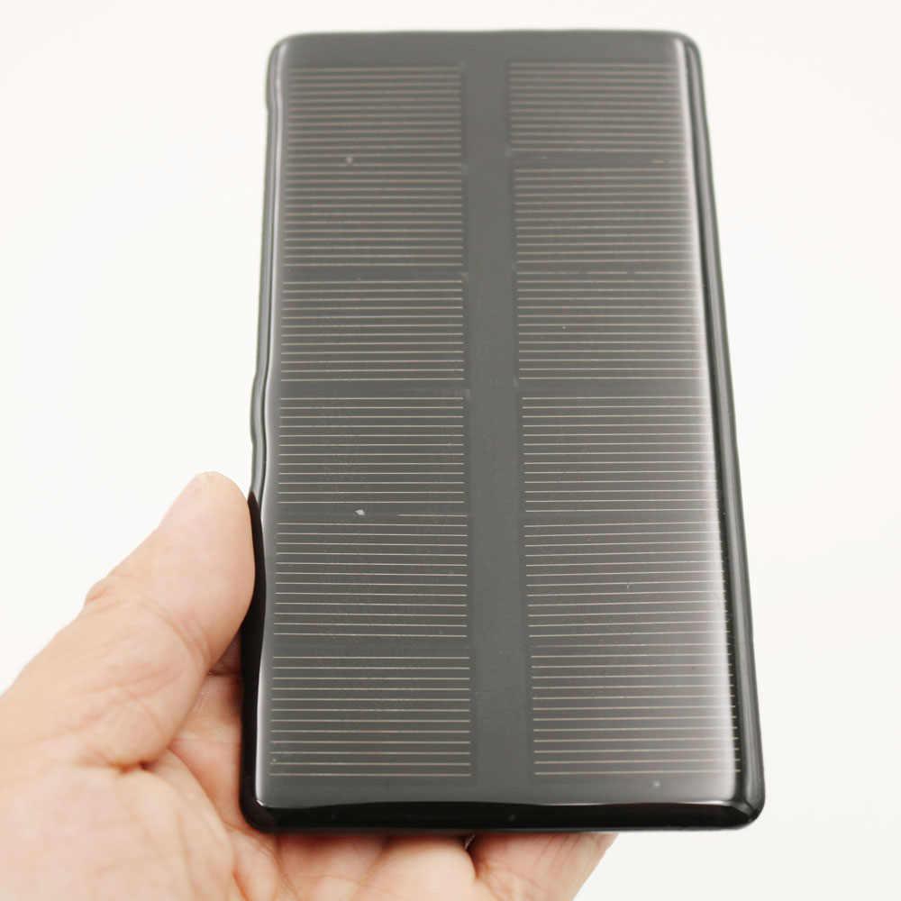 6V 210mA 1,26 vatios Panel Solar silicio policristalino DIY cargador de batería pequeña Mini célula Solar juguete bomba de agua Luz de hogar 6V