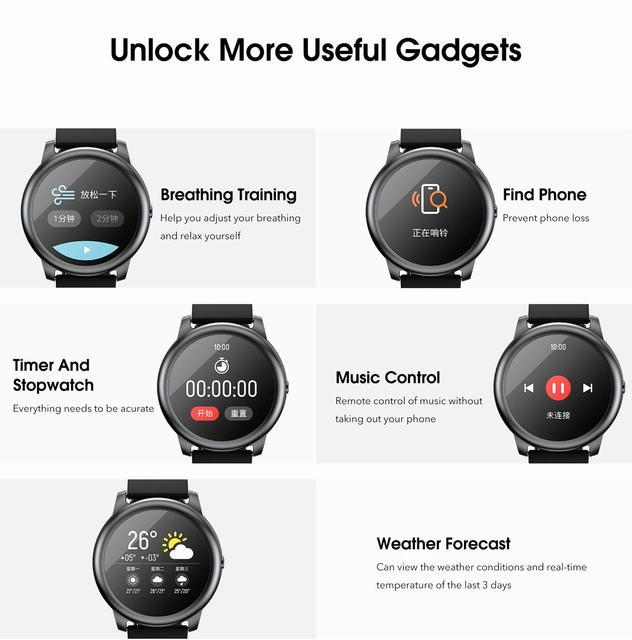 Xiaomi Haylou Solar Smart Watch Sport Heart Rate Sleep Monitor Fitness Tracker 4