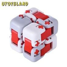 Пальчиковые Кубики интеллект декомпрессии игрушки поддержка взрослых и детей игровой комплект