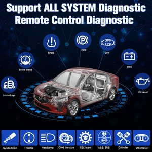 Image 2 - Autel OBD2 Auto Strumento di Diagnostica Maxisys MS906BT Senza Fili di Bluetooth Scanner Chiave di Codifica Immobilizzatore One Stop Multitasking Progettato