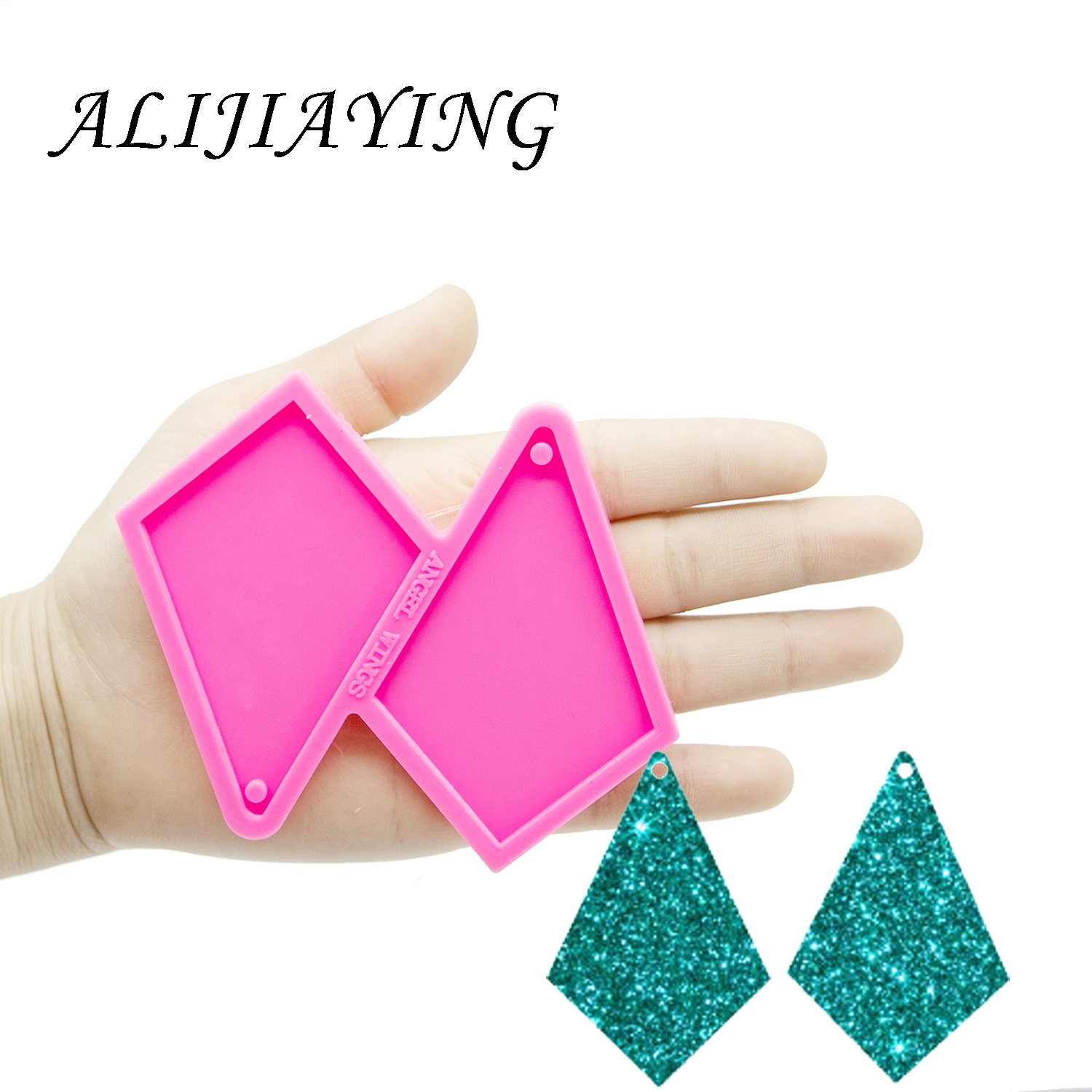 Kite Shape Mold Silicone For Craft DIY Silicone Earring Mould Gem Epoxy Resin Moulds For Jewelry DY0314