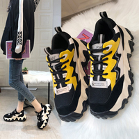 Oferta Zapatillas de Otoño Invierno para mujer además de cachemir para damas zapatos de plataforma con cuña