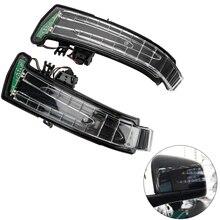 רכב אחורי להציג מראה אינדיקטורים LED נצנץ מנורת אביזרי רכב לנץ W221 W212 W204 W176 W246 X156 C204 C117 x117