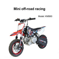 High-quality two-wheeled mini off-road motorcycle racing children's KMB 60CC single-cylinder engine for off-road riding 2