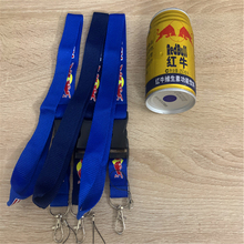 Factory direct wholesale For Red Bull lanyard, keychain sling, certificate neck strap, mobile phone sling