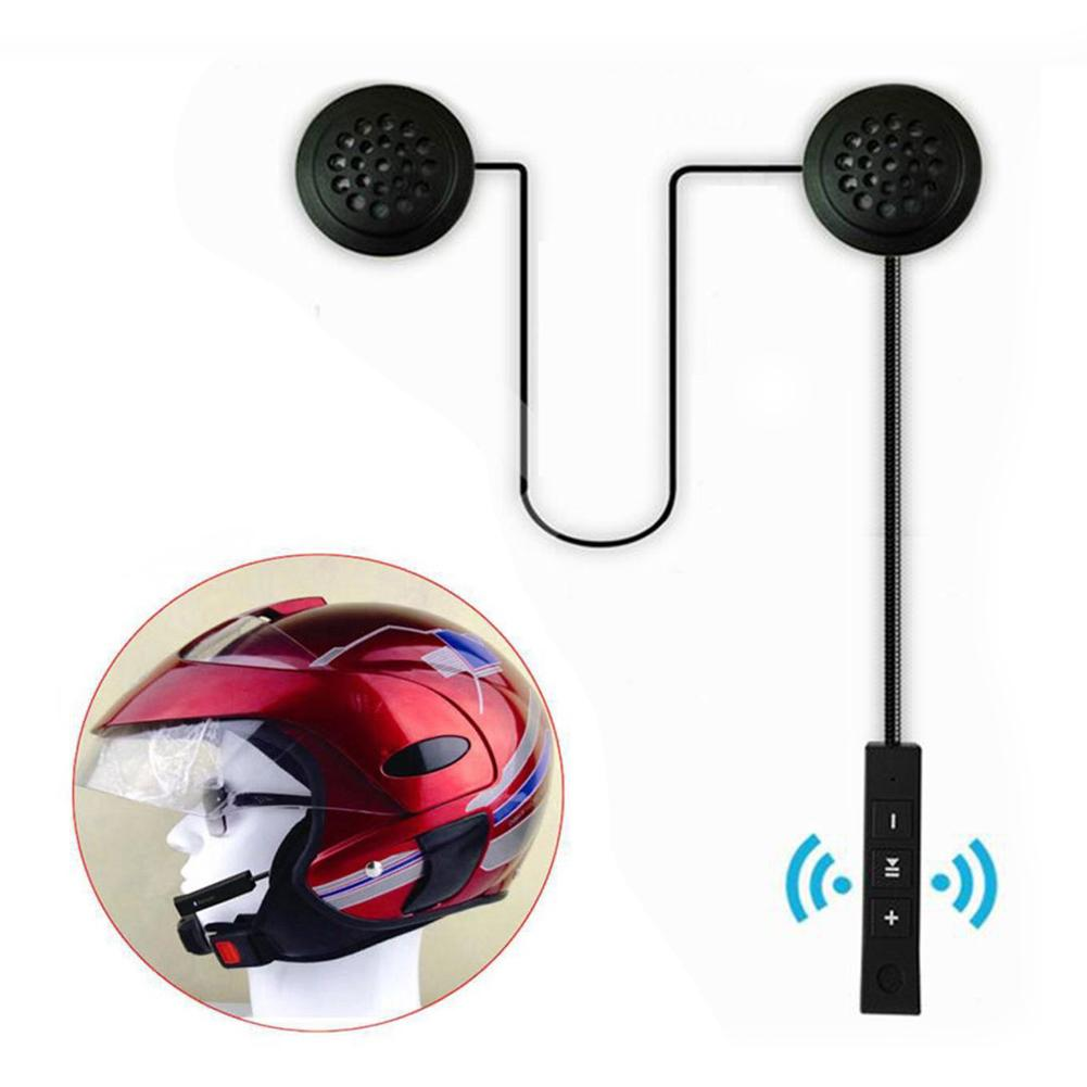 Bluetooth Anti-interference Headset Motorcycle Helmet Driving Headphone With Large Buttons Hands-free Compact Headset