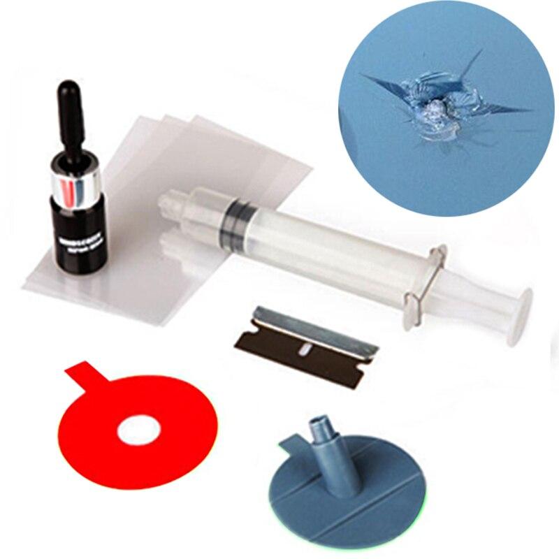 Инструменты для ремонта автомобильных окон «сделай сам», наборы для ремонта стекол на ветровом стекле для восстановления трещины ветровог...