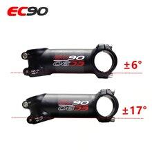 EC90, алюминиевый+ карбоновый стержень из углеродного волокна, велосипедный стержень из углеродного волокна, углеродная ручка 28,6-31,8 мм, 6 градусов, 17 градусов