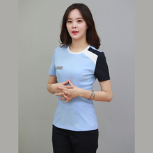 Micro plastic hospital nurse work clothes beauty salon beautician trouser suit tattoo artist nail technician