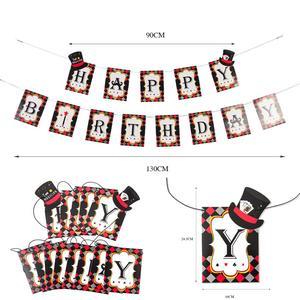 Image 3 - Kasyno dekoracja na imprezy tematyczne Poker Logo wiszące baner urodzinowy lateksowe balony foto budka Prop pokaz magii zaopatrzenie firm
