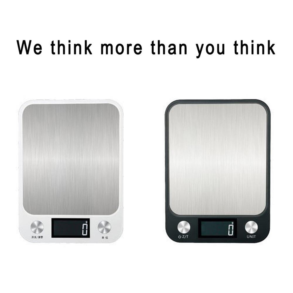 10kg/1g LCD Display Multi-function Digital Food Kitchen Scale Stainless Steel Weighing Food Scale Cooking Tools Balance