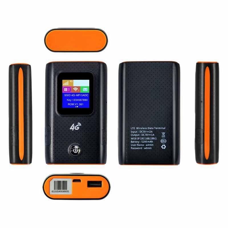 2 шт 4G Wifi роутер автомобильный мобильный Точка доступа беспроводной широкополосный Карманный Mifi разблокировка Lte модем беспроводной Wifi расширитель повторитель мини Rout - 6