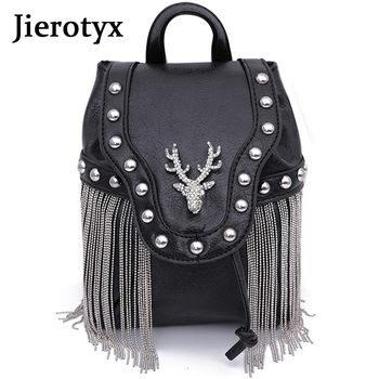 JIEROTYX Fashion Gothic Rock Leather Vintage Retro Steampunk Handbag Shoulder Bag Coin Purse Holder Women Messenger Bag 2020 carteras mujer bag steampunk thigh motor leg outlaw pack thigh holster protected purse shoulder backpack purse leather women bag