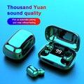 L21 Pro Наушники-вкладыши TWS с Беспроводной Bluetooth наушники 9D стерео наушники-вкладыши музыкальные наушники гарнитуры наушники с микрофоном для...