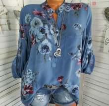 Новинка 2020 блузки с цветочным принтом летние топы рубашки