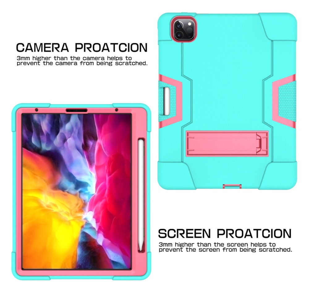 Pro for for iPad 2 iPad 2nd Anti-Fall Apple 2020 Pro Case 2018 Generation 11 Cover 11