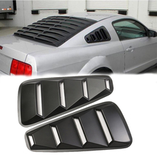 Brand New Side Window Louvers Scoop Cover Vent For Ford/Mustang 2005 2006 2007 2008 2009 2010 2011 2012 2013 2014 коммутатор no brand 7e0959855 5 6 2005 2006 2007 2008 2009 2010 2011