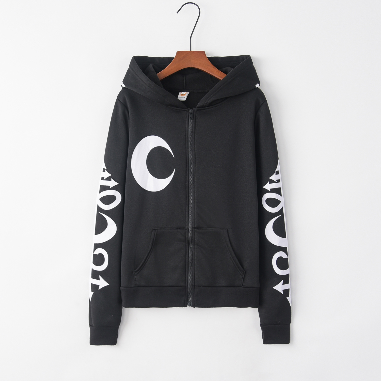 Gothic Moon 2020 New Design Hot Sale Hoodies Sweatshirts Women Casual Kawaii Harajuku Sweat Girls European Tops Korean