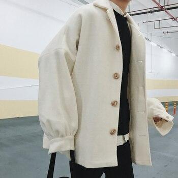 Trench Coat Men Full Length White Men Winter Jacket Mens Bubble Jacket Chaqueta Hombre Invierno Chaqueta Hombre Students GG50dy