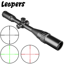 LEAPERS 4-16X40 Hunting Sniper Scope Tactical Optical Rifle Scope Red Green Dot Sight Illuminated Retical Sight For Riflescope