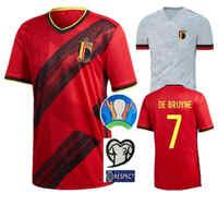 Camiseta DE fútbol para adultos 2020 belgas HAZARD LUKAKU MERTENS Home 20 21 VERMAELEN DE BRUYNE NAINGGOLAN camisetas DE fútbol