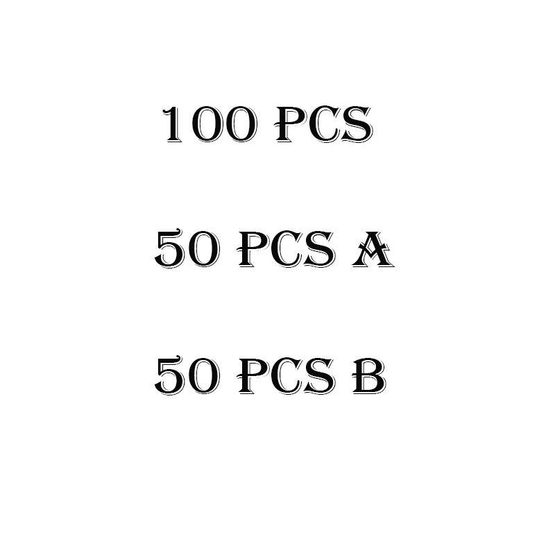 50-100Pcs Movie Stickers