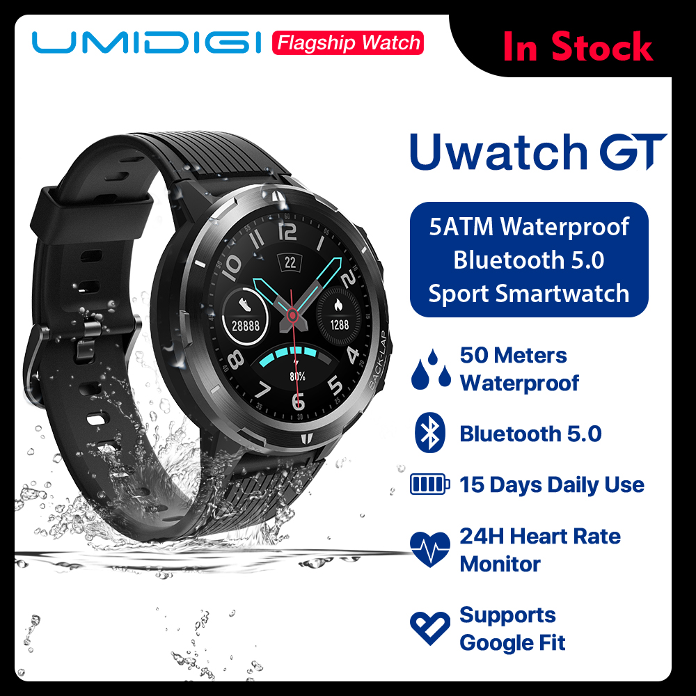 UMIDIGI Sleep-Monitor Tracking Activity Smart-Watch All-Day-Heart-Rate Ultra-Long Waterproof