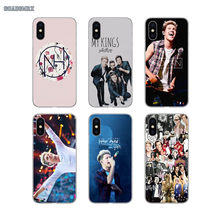 For Huawei Mate 7 8 9 10 Pro 20 Lite Y3 Y5 Y6 II Y7 Prime Y9 GR5 2017 2018 2019 Niall Horan One Direction Transparent Soft Cases(China)
