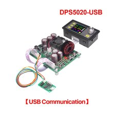 купить DPS5020-USB Constant Voltage Current Step-Down Communication 50V 20A LCD Voltmeter Digital Power Supply Voltage Converter дешево