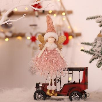 Christmas Tree Pendant Innocative Lovely Beautiful Girl Angel Doll Christmas Tree Pendant Decoration image
