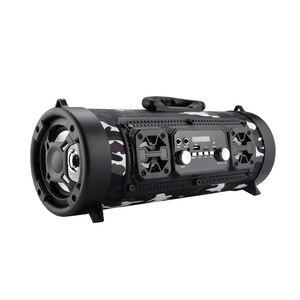 Image 1 - Hifi נייד Bluetooth רמקול FM רדיו להעביר KTV 3D יחידת צליל היקפי אלחוטי טלוויזיה קול בר סאב 15W חיצוני רמקול + מיקרופון