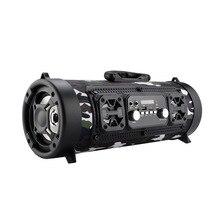 Hifi Tragbare Bluetooth Lautsprecher FM Radio Bewegen KTV 3D Sound Einheit Drahtlose Surround TV Sound bar Subwoofer 15W Im Freien lautsprecher + Mic