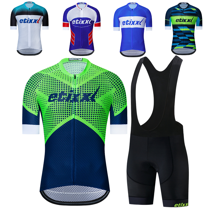 ETIXXL New Gradient Color Pro Aero Cycling Jersey Short sleeve Race tight fit Cycling Clothing Road Bike Maillot Ciclismo hombre|Cycling Jerseys| |  -