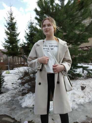 Luzuzi Baru Wanita Musim Gugur Wol mantel Hangat Lengan Panjang Turn-down Kerah Lebih Tahan Dr Jaket Wanita 2020 Musim Dingin Kasual Elegan mantel
