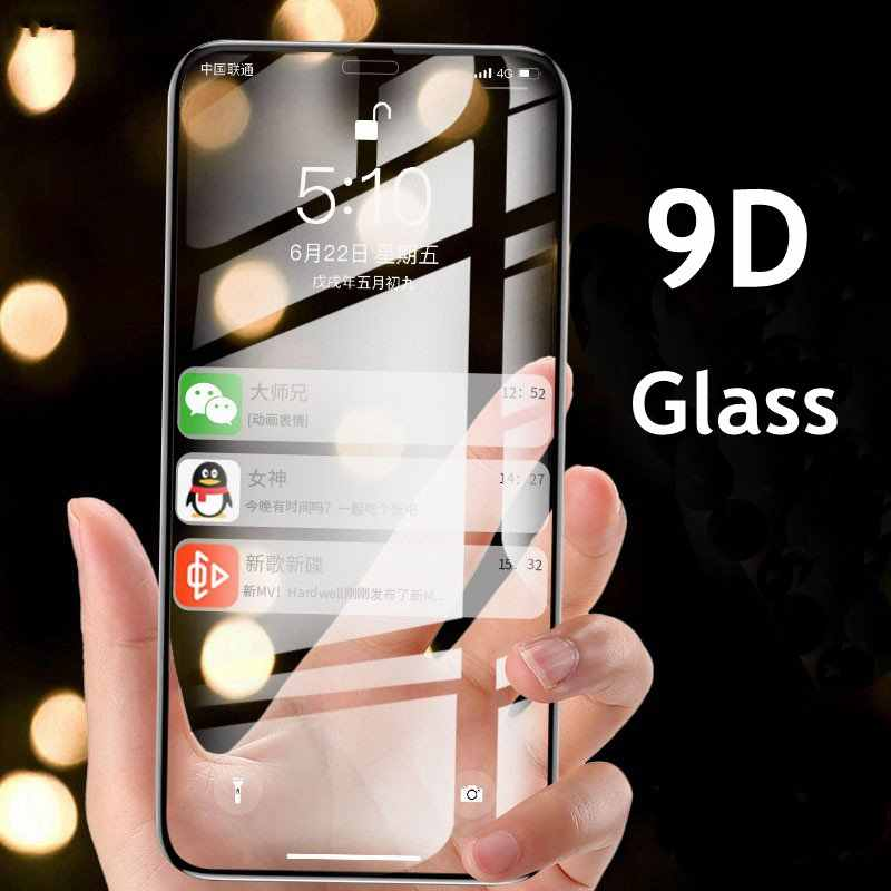 For IPHONE 11 2019 TOP Full Cover Tempered Glass For IPHONE 11 Pro Max 2019 XS Max X XR high quality screen protector Film