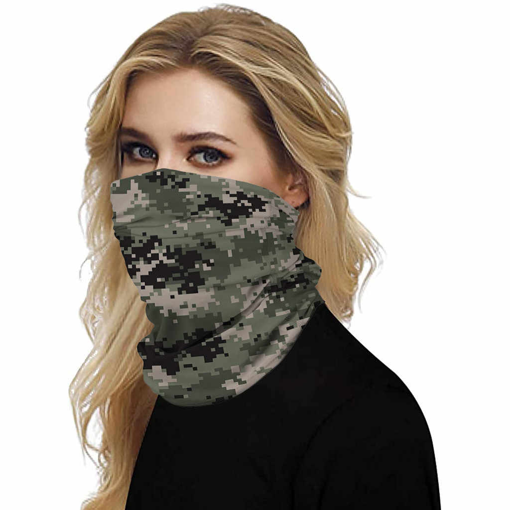 Facial protection Scarves Multifunctional Headwear Scarves Ski Wind Proof Neck-Warm Face Cover Scarves Dropshipping In stock