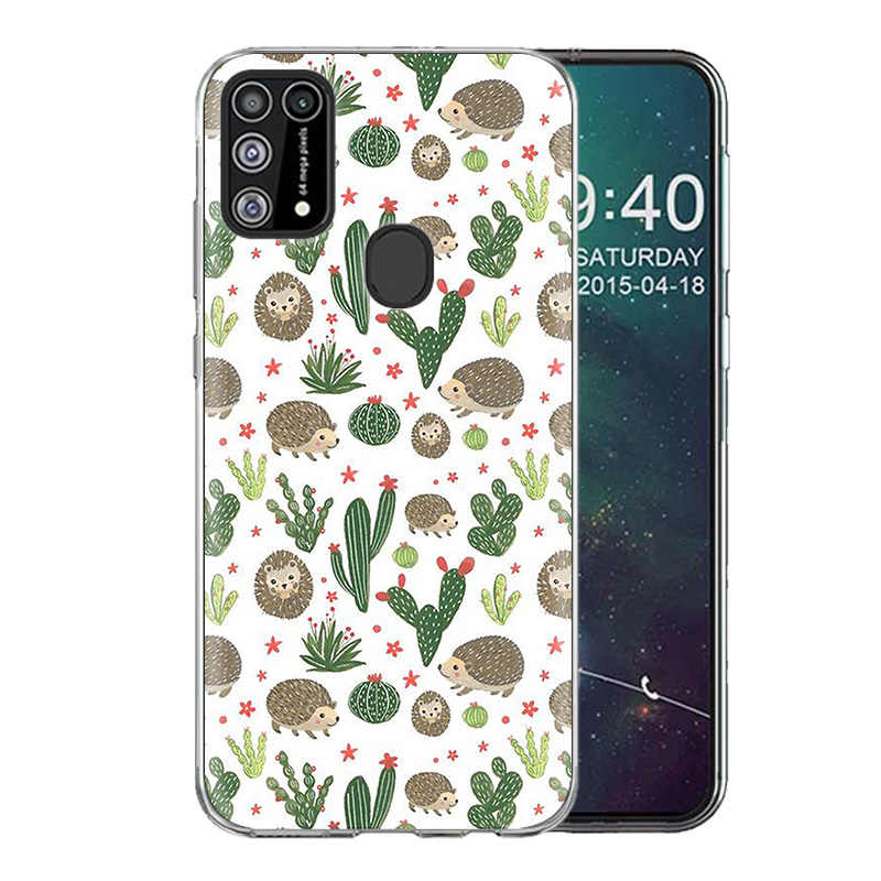 Di PROVA Per Il Caso di Samsung Galaxy A51 A71 S20 Più A21 A01 A81 A91 A70s Nota 10 Lite Del Telefono Morbida Coque sac