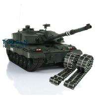 Henglong Custom 1/16 Dark Green 6.0 Challenger II RC Tank 3908 Metal Tracks W/ Rubbers TH12900