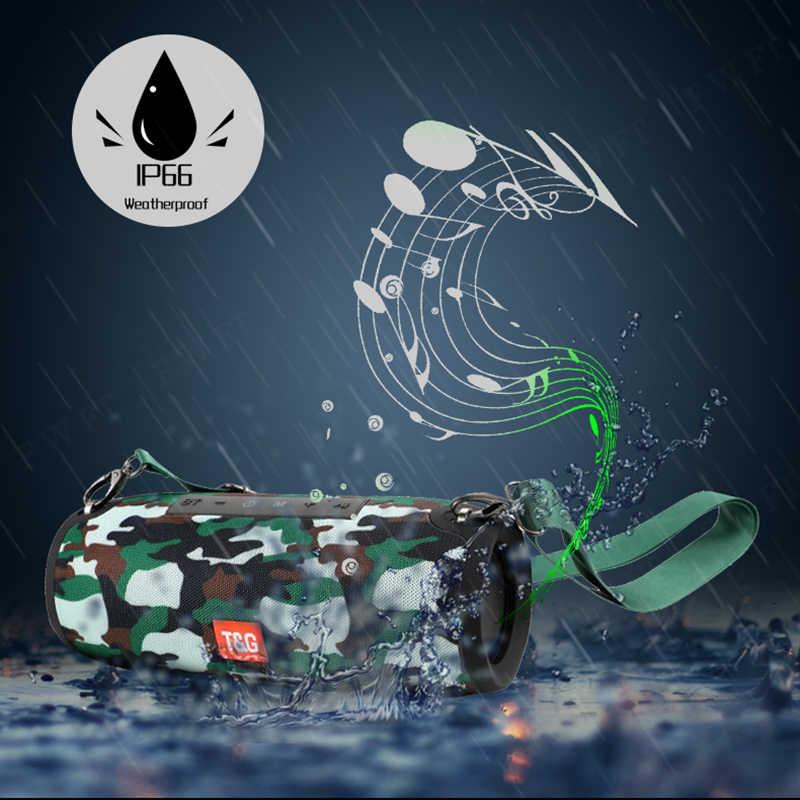 Portable Bluetooth Speaker 40 W Draadloze Bass Kolom Waterdichte Outdoor Speaker Ondersteuning Aux Tf Usb Subwoofer Stereo Luidspreker