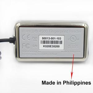 Image 2 - 100% orijinal dijital Persona USB biyometrik tarayıcı parmak izi okuyucu URU4500 ücretsiz SDK filipinler yapılan
