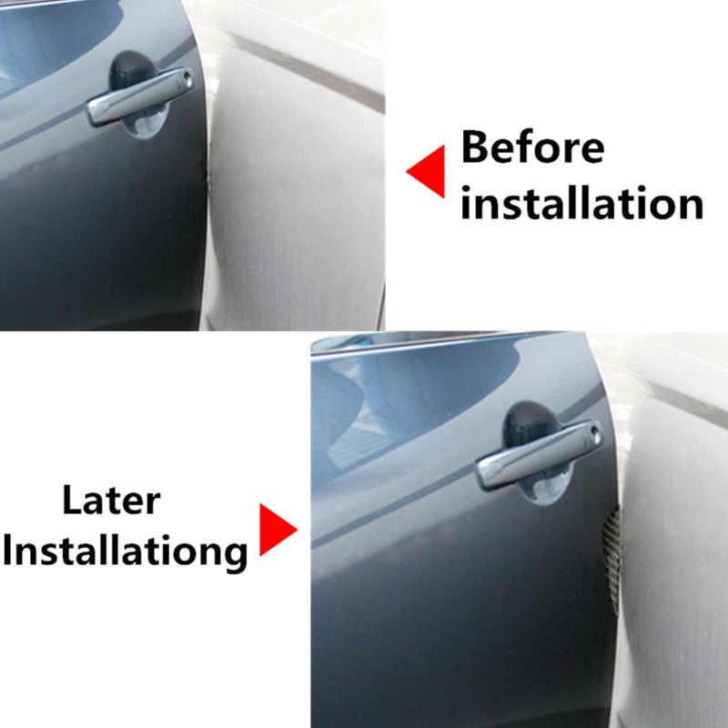 Zabezpieczenie krawędzi bocznej drzwi samochodu naklejki dla Citroen C4 C5 C3 VW Polo Passat B6 B5 B7 CC Golf 4 5 7 Opel Astra H J G Insignia