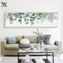 Винтажные плакаты и принты Monstera украшение для дома для гостиной кактус Прихожая настенная художественная картина Современная Картина на холсте
