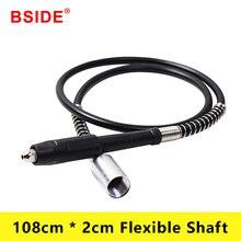 цена на BSIDE 108cm * 2cm for Dremel Tools Rotary Grinder Tool Flexible Shaft Fits for Foredom Rotary Tool Accessories Flex Shaft