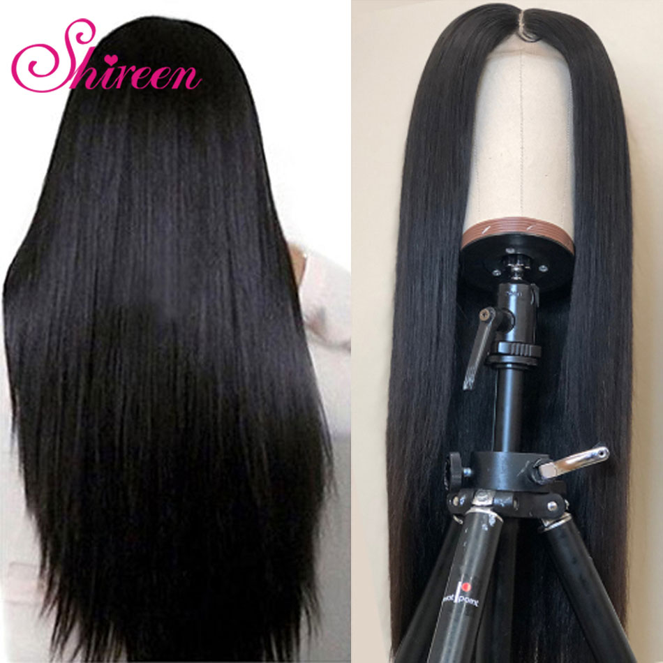Shireen Hair Brazilian Straight Lace Wig For Black Women Remy 13x4 Lace Front Human Hair Wigs Pre Plucked With Baby Hair